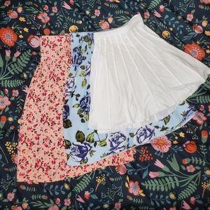 Jules+James | Talula | Ecote | Small | 3 Skirts